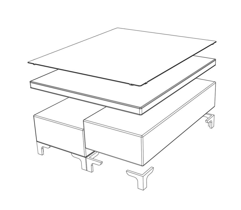 nijsse agenturen - topperbox tekening